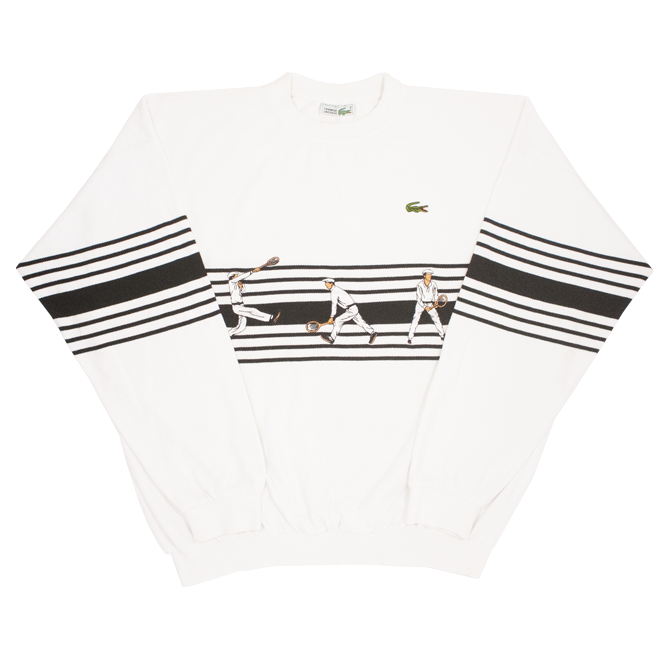 Image of Lacoste Vintage Crewneck Size 6 Fit L/XL