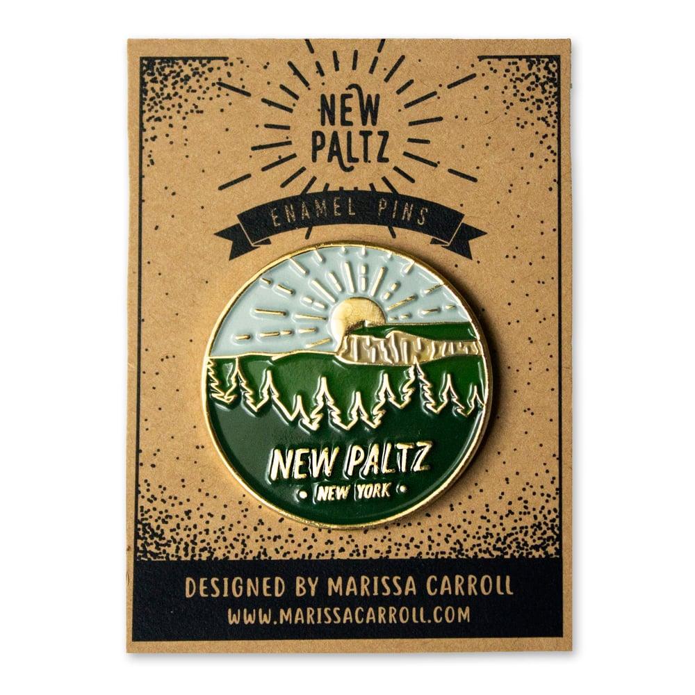 Image of New Paltz Enamel Pin