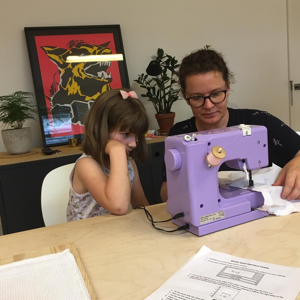 Image of Sewing lessons