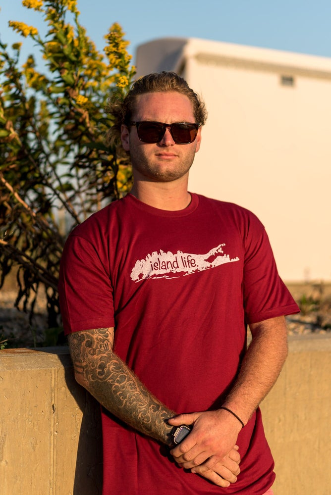 Image of Logo Tee Cardinal Red