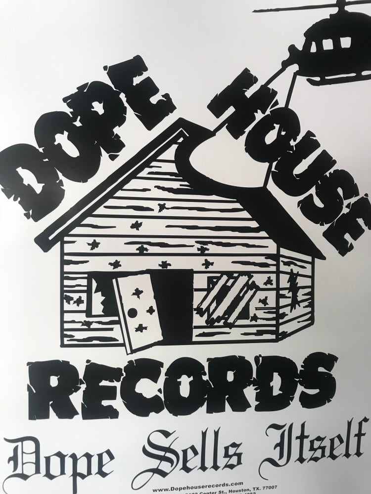 Image of Dope House Records poster