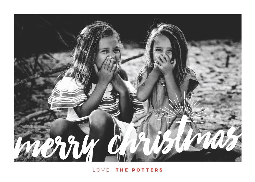 Image of Starburst Holiday Card