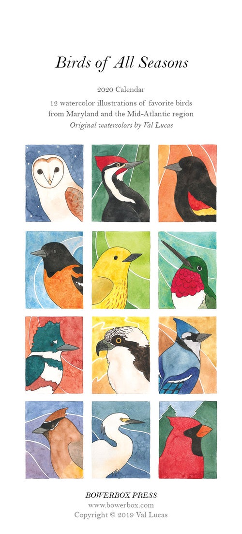 Image of 2020 Bird Calendars