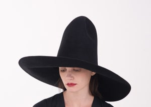 Image of  Wool Brim Fedora Hat - 001