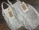 NATURAL 100% COTTON ECO STRING TOTE - standard size