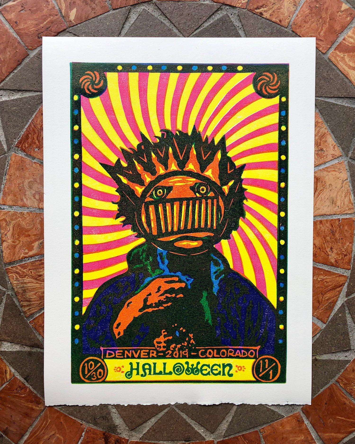 Image of HalloWEEN print
