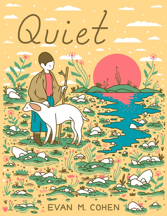 "Image of ""Quiet"" Comic"