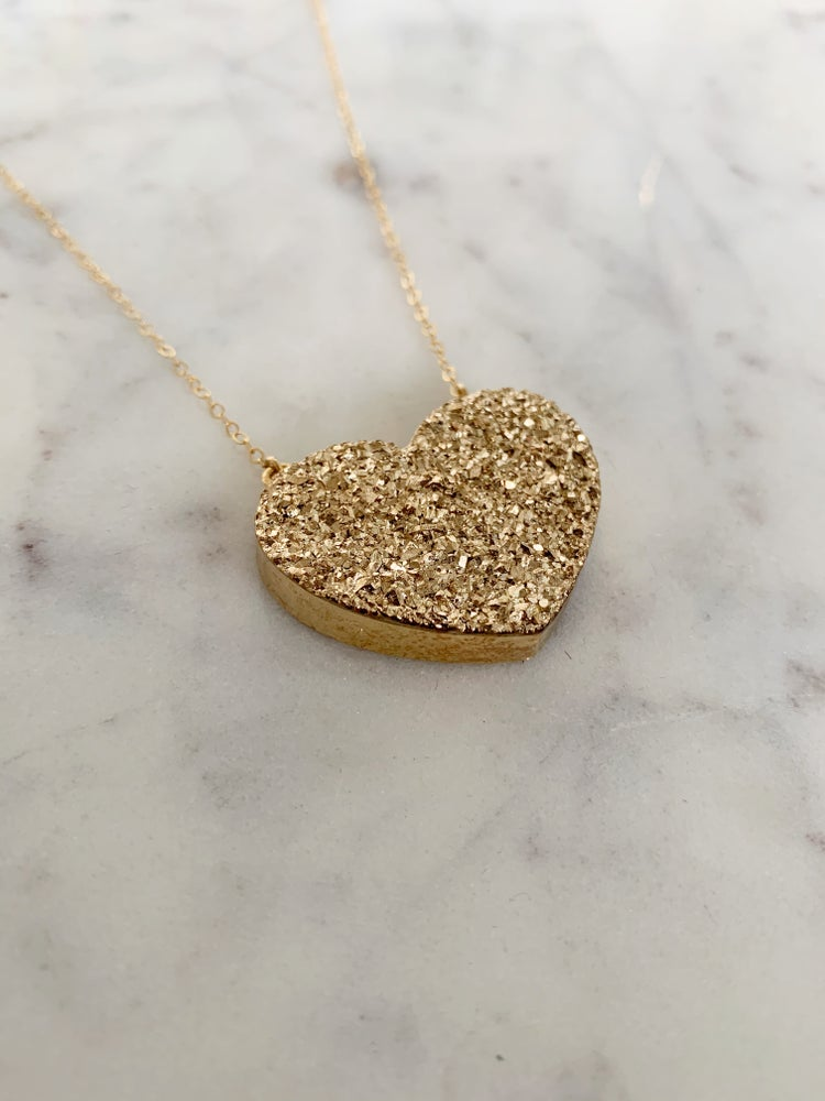 Image of Heart of Gold Necklace