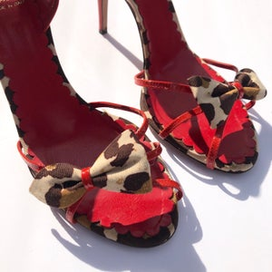 Image of Moschino Red Hot Heels