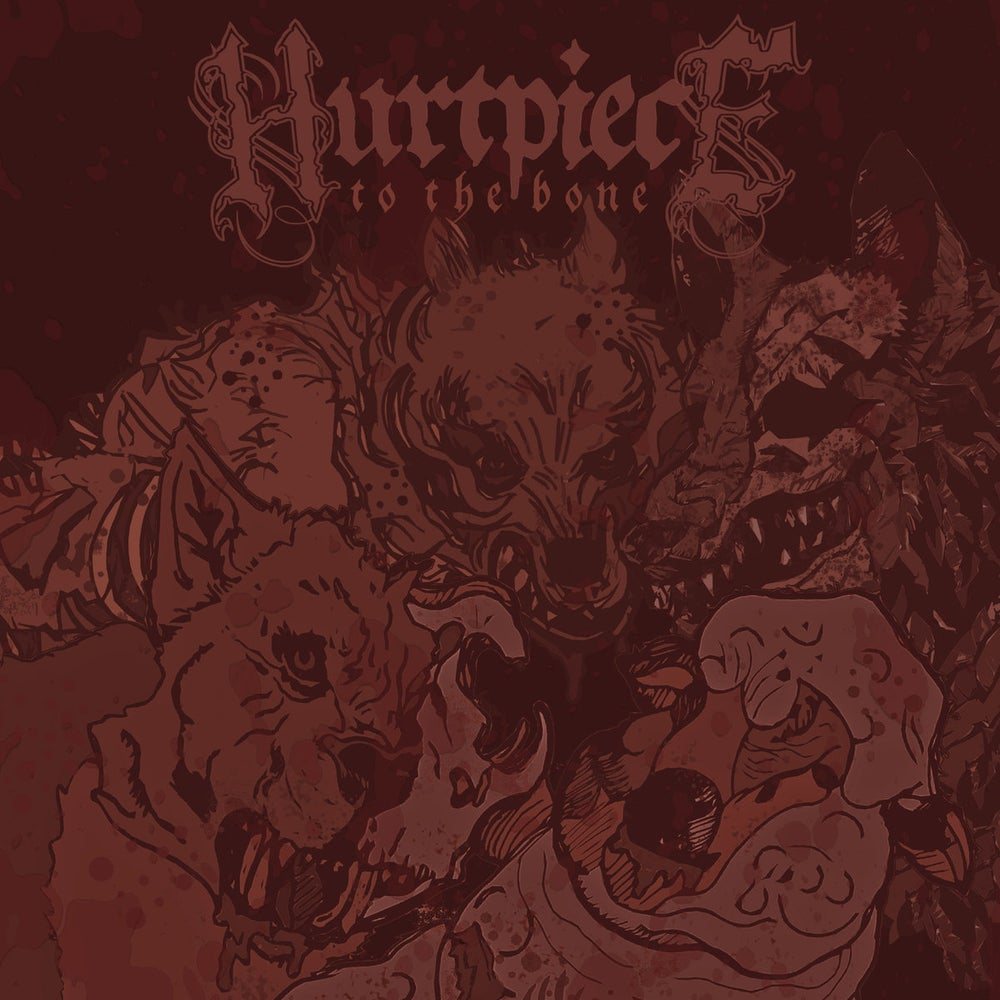 Image of Hurtpiece - To The Bone CDEP Digipack