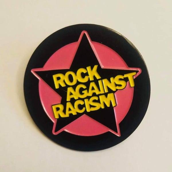 Image of Rock Against Racism enamel pin