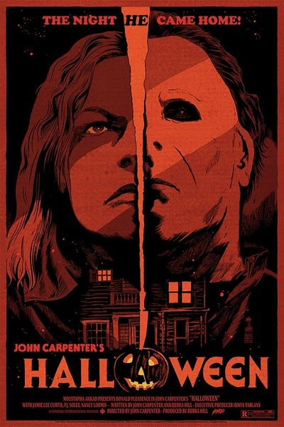 Image of  Halloween (1978) Mondo Screen Print APs 24x36