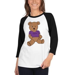 Image of Benny The Teddy Bear 3/4 Sleeve Shirt