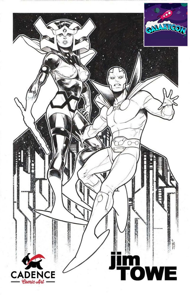 Image of Jim Towe Louisvile Galaxy Con Pre-Show Commission