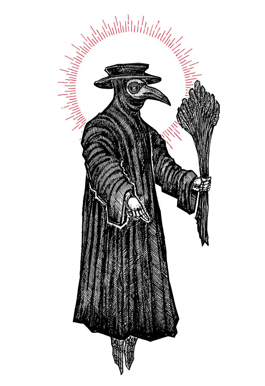 "Image of ""The Healer"" 8.5""x11"" Watercolor Print"