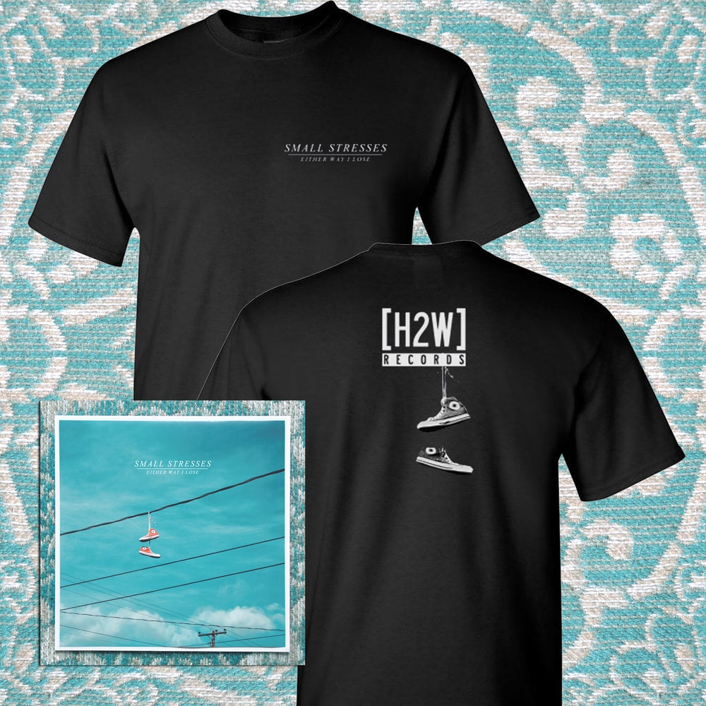 Image of Small Stresses - Either Way I Lose LP + Shirt Bundle