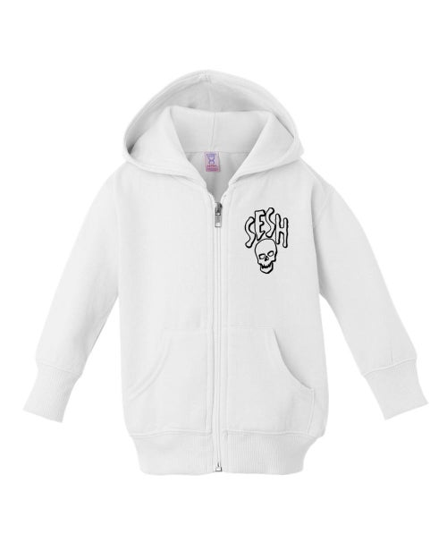 Image of SESHSKULL Baby Zip Up Hoodies