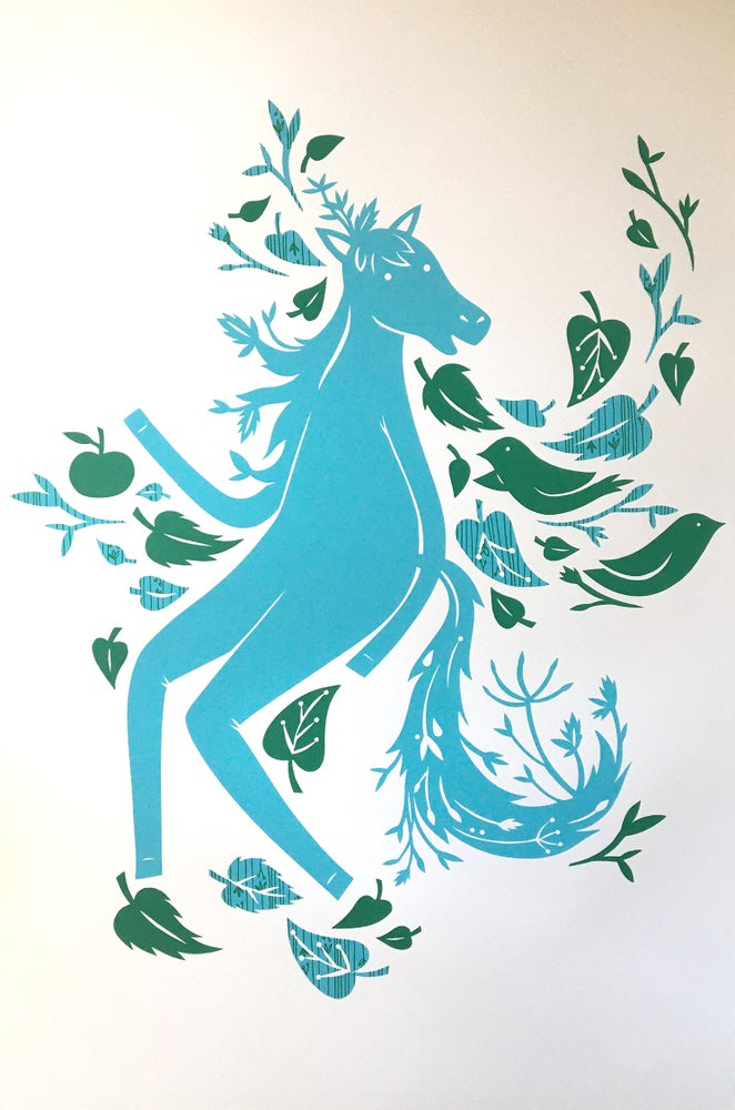 Image of Mr. Pony Silkscreen Print