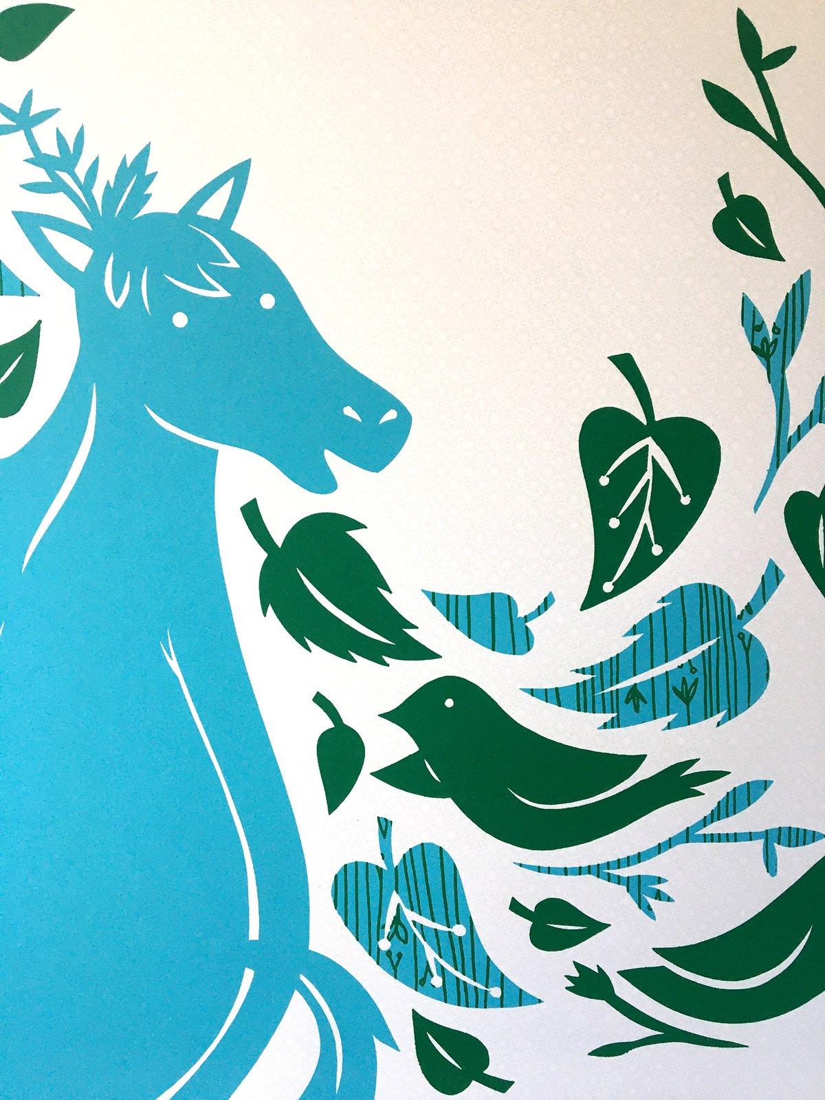 Image of Mr. Pony Silkscreen Print