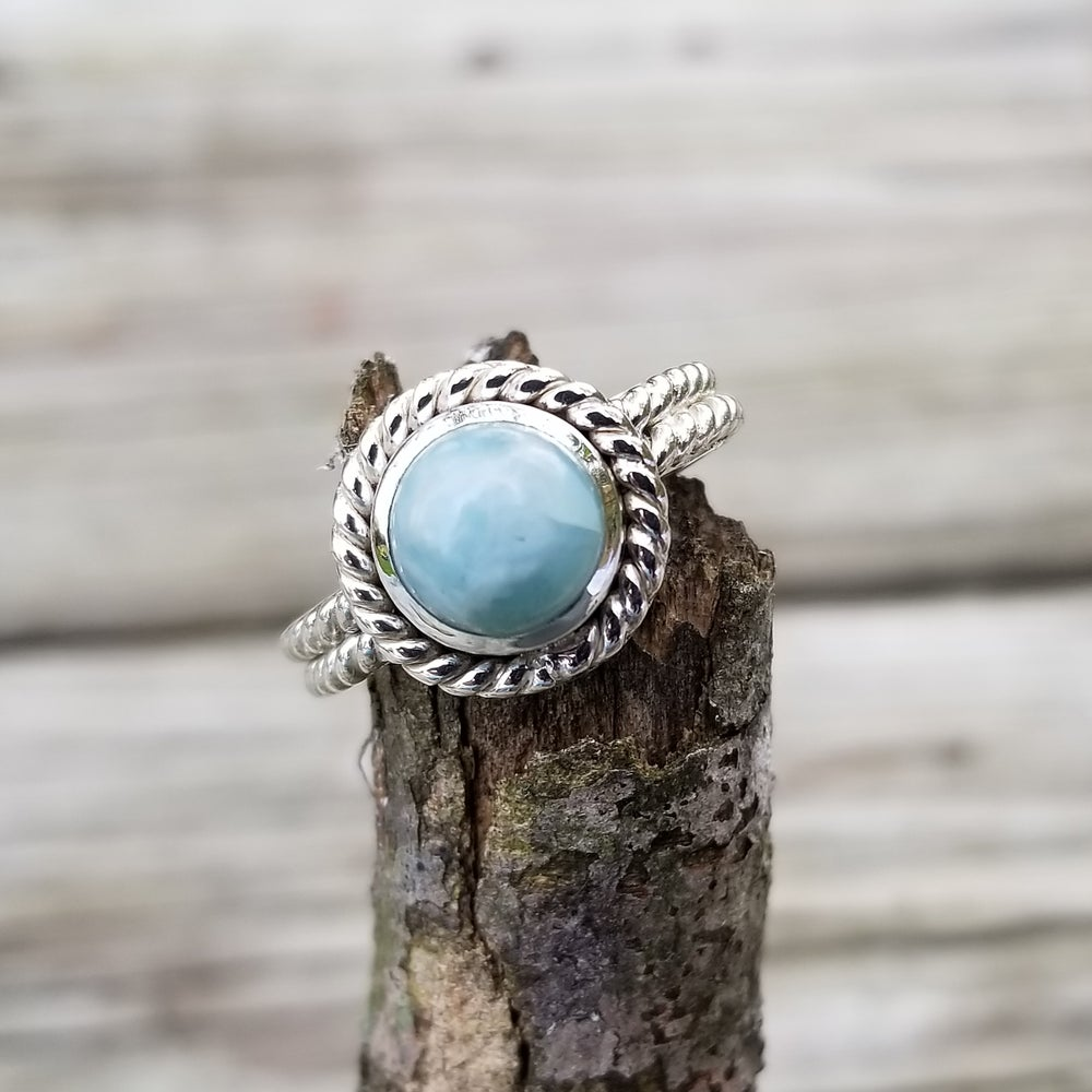 Image of Oceana Ring - Larimar in Sterling