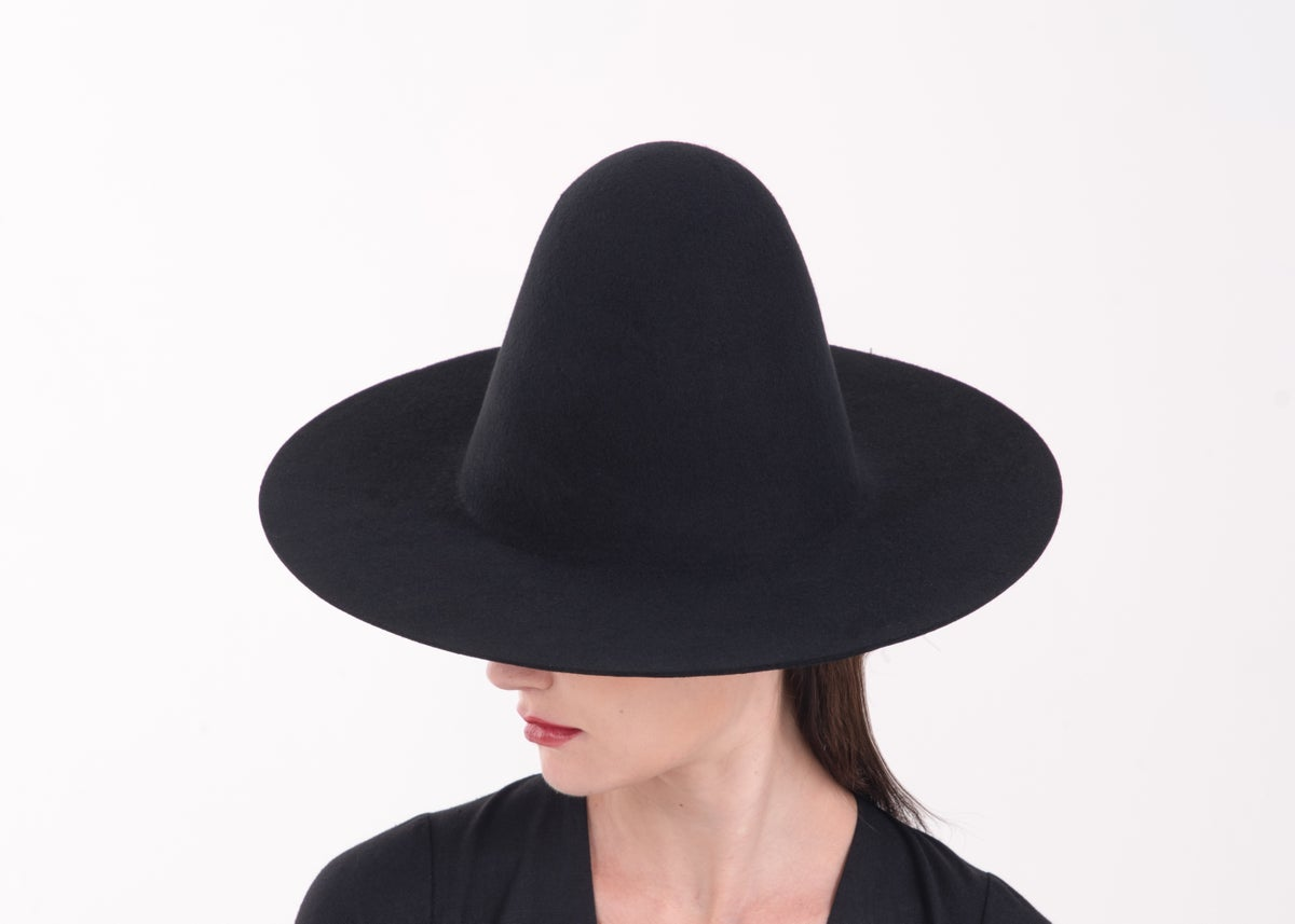 Image of Wool Brim Fedora Hat - 003