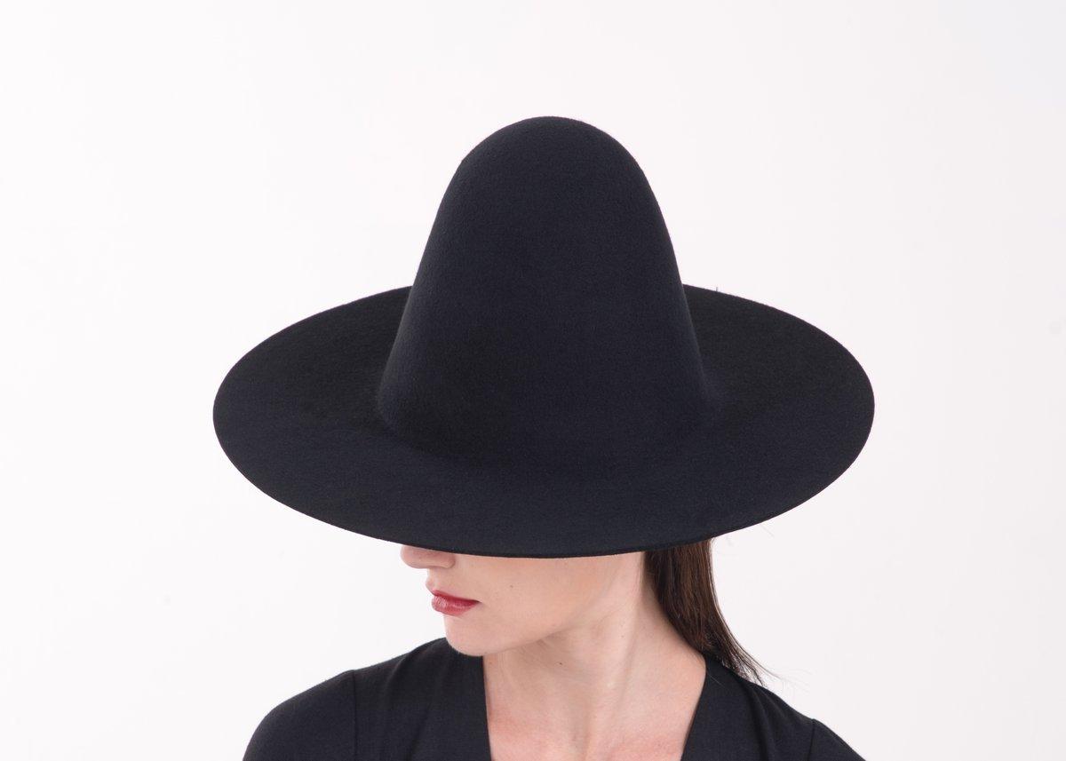 Image of Wool Brim Fedora Hat - 003