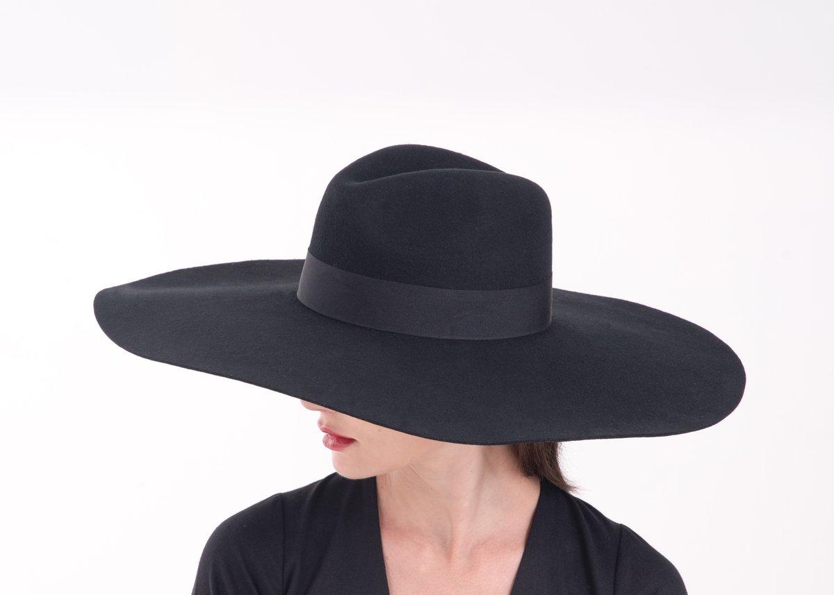 Image of Wool Brim Fedora Hat - 004