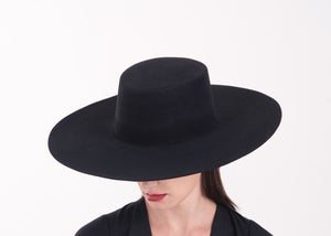 Image of Wool Brim Fedora Hat - 002