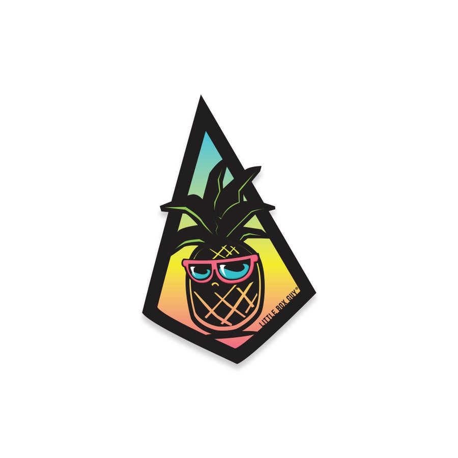 Image of Pineapple 'Gotcha' (Die-cut Sticker)