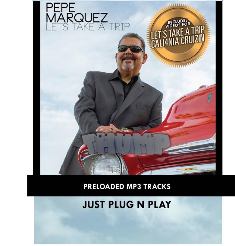 Image of Pepe Marquez Pre-loaded Music USB