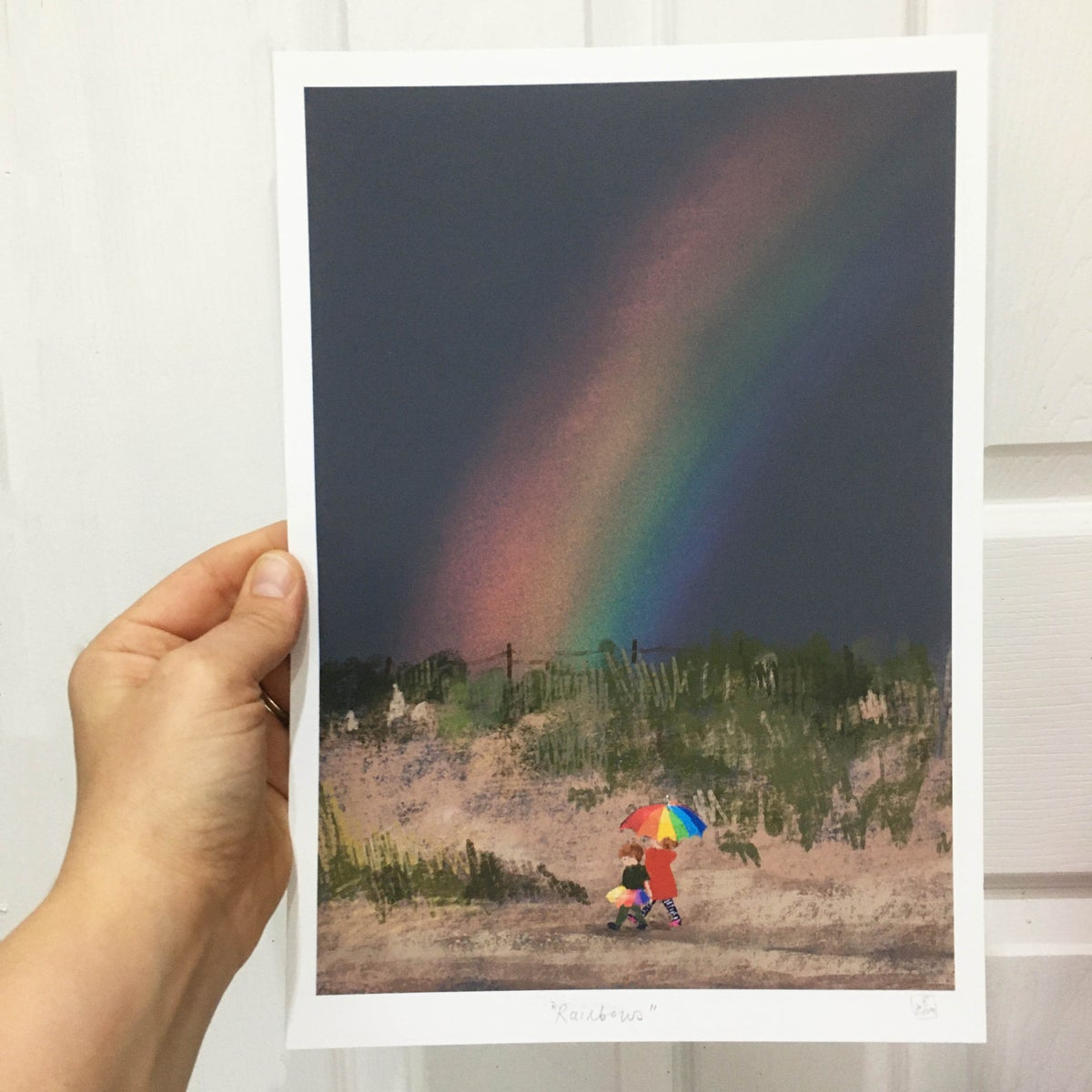 Image of 'Rainbow' A4 Archive quality Print
