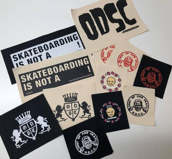 Image of ODSC Canvas Patches