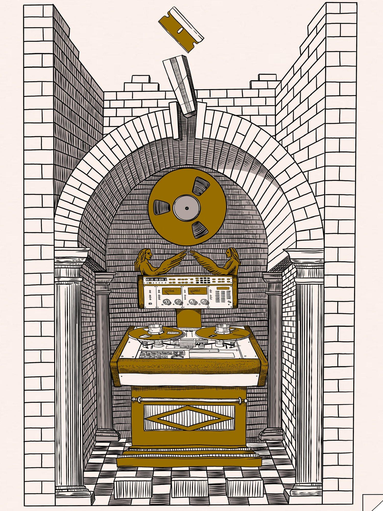 Image of Pre-Order - Splicing Altar 18x24 Screen Print