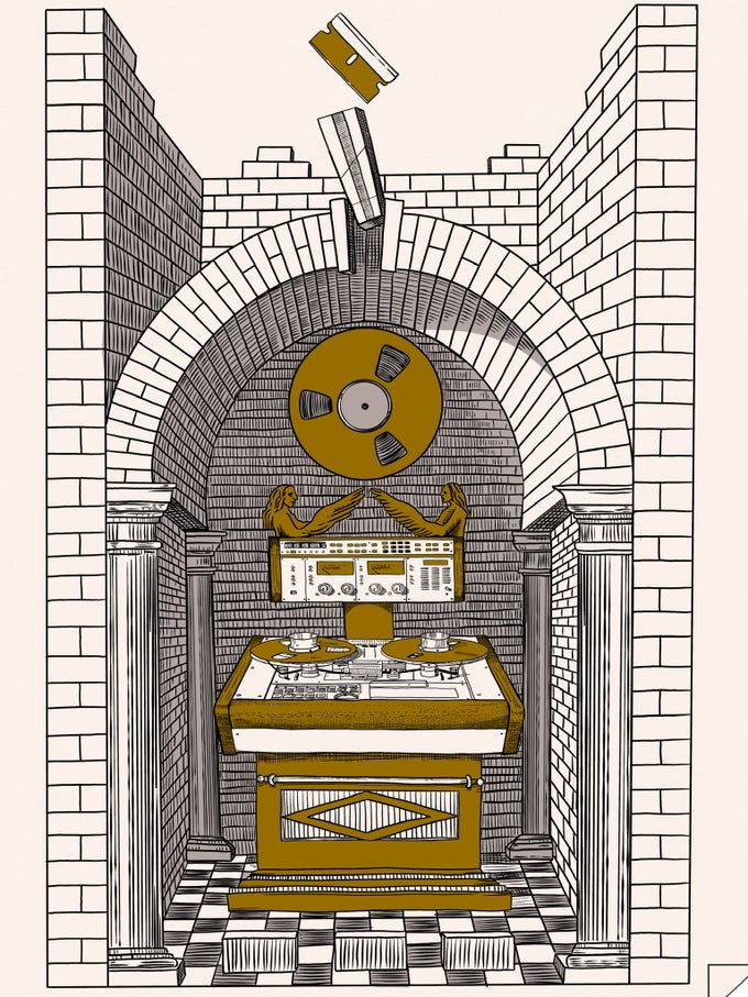 Image of Splicing Altar 18x24 Screen Print  - Only 25 made