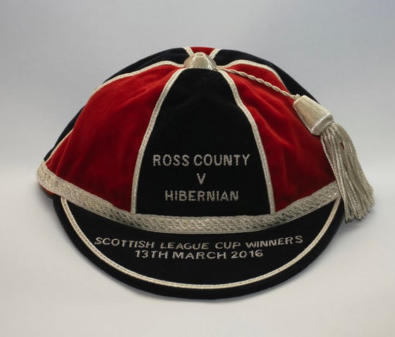 Image of Ross County - Scottish League Cup Winners Commemorative Cap