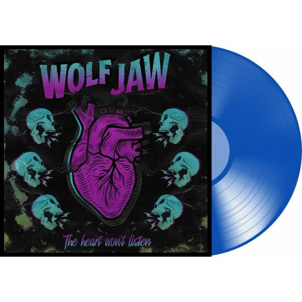 Image of The Heart Won't Listen Ltd Edition Blue Vinyl