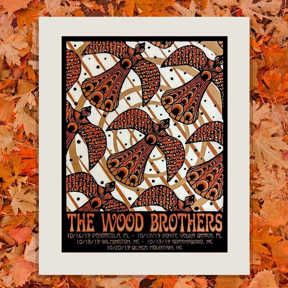 "Image of ""Fall Migration"" - The Wood Brothers Tour Print"