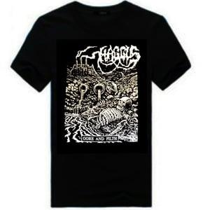 "Image of HAGGUS ""Gore & Filth"" T-Shirt"