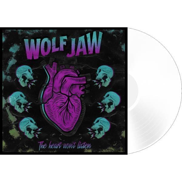 Image of 'The Heart Won't Listen' Ltd etd White Vinyl