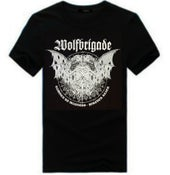 "Image of Wolfbrigade ""Damned To Madness, Forever Black"" T-Shirt"