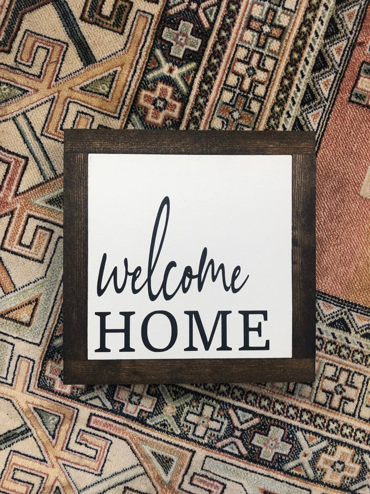 Image of Welcome home small