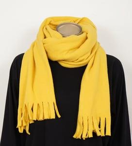 Image of Schal Gelb aus Bio-Baumwolle