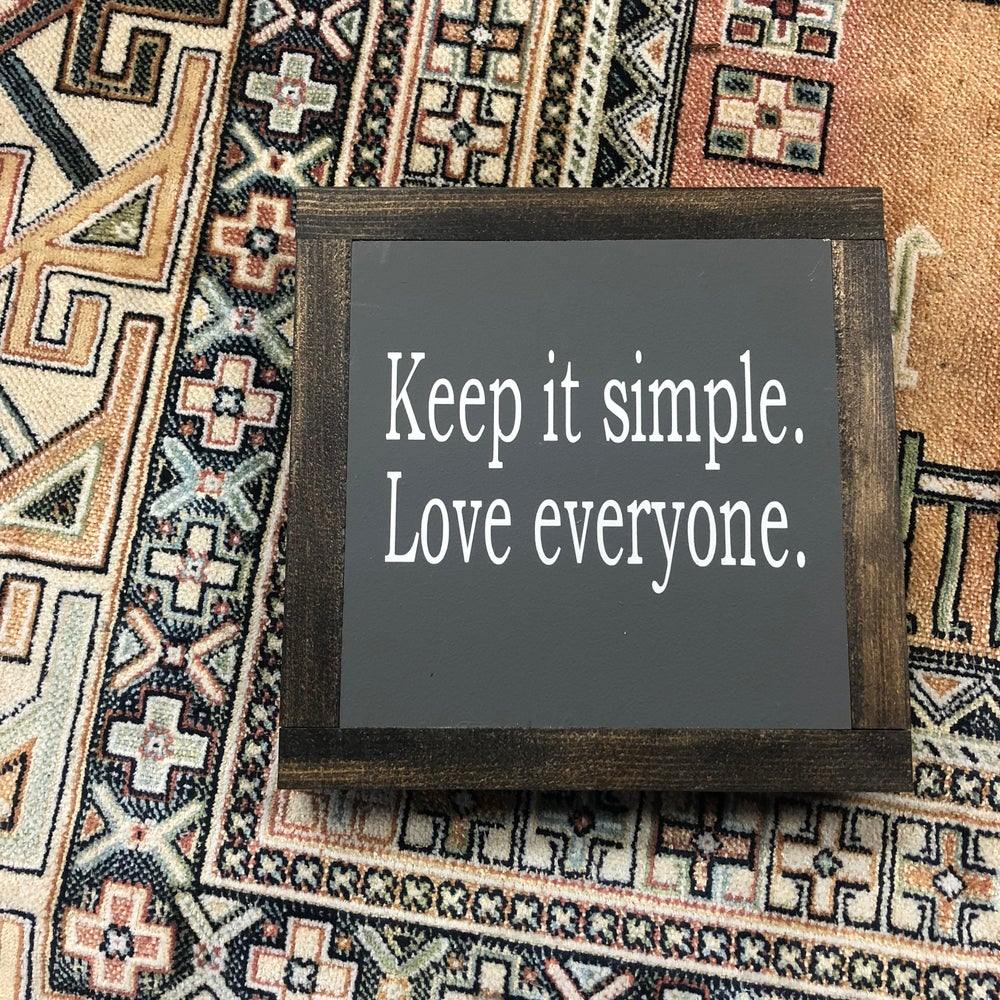 Image of Keep it Simple