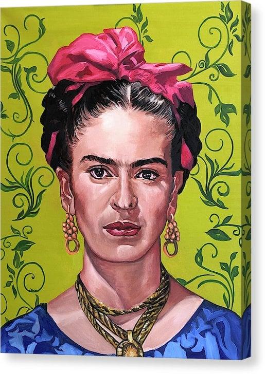 """Image of """"Frida Kahlo"""" Original Painting"""