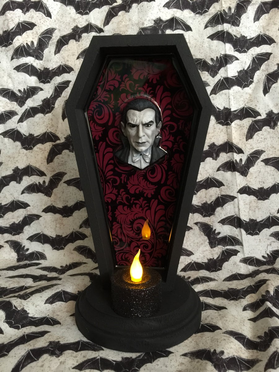 Image of PRE ORDER Dracula inside Resined Coffin