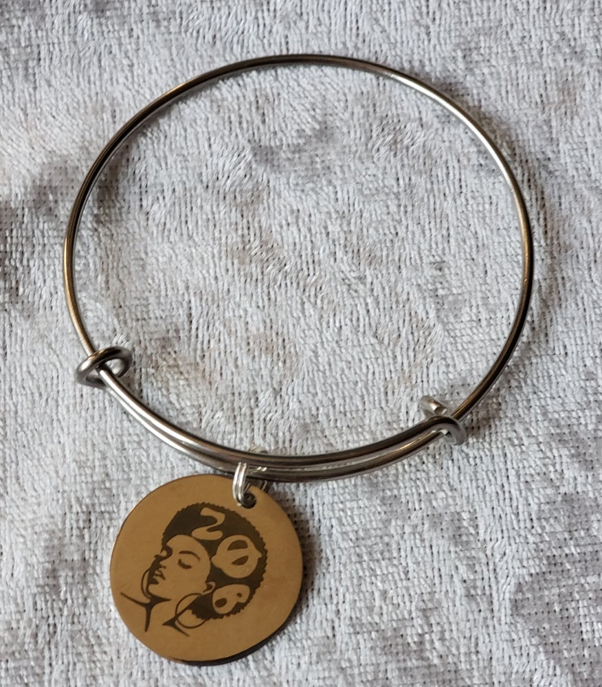 Image of Zeta Fro Sista Charm Bangle