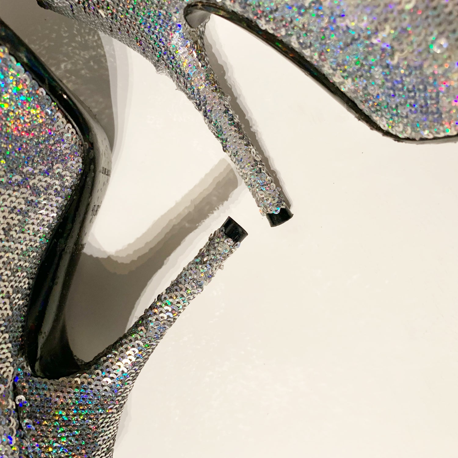 Image of BALENCIAGA SEQUIN KNIFE BOOT