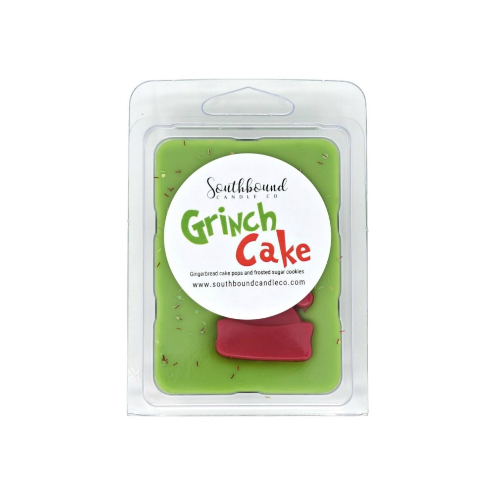 Image of Clamshell - Grinch Cake