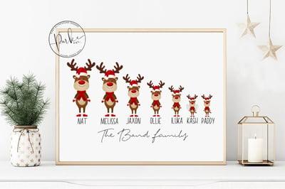 Image of Personalised Christmas Printables