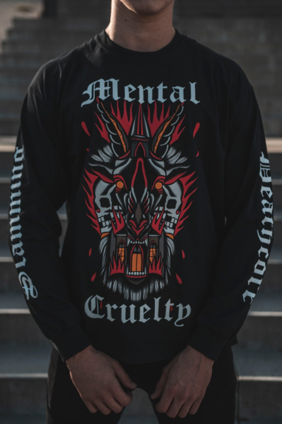 Image of 𝐌𝐂 𝐗 𝐒𝐇𝐀𝐌𝐔𝐒 Longsleeve